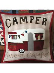 Camper Sweet Camper Pillow