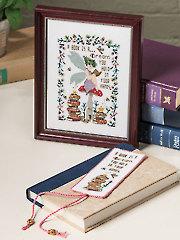 A Fairy's Retreat Cross Stitch Pattern