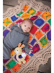 ANNIE'S SIGNATURE DESIGNS: Magic Garden Afghan Crochet Pattern