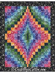 Bargello Jewel Quilt Pattern Pattern
