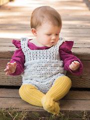 ANNIE'S SIGNATURE DESIGNS: Lil' Rascal Romper Crochet Pattern