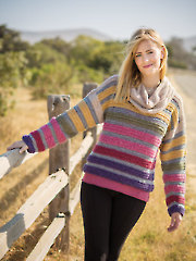 ANNIE'S SIGNATURE DESIGNS: Shades of Dawn Sweater Crochet Pattern