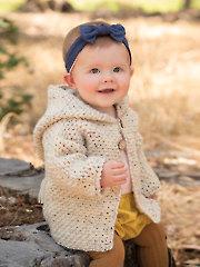 ANNIE'S SIGNATURE DESIGNS: First Journey Hoodie Crochet Pattern