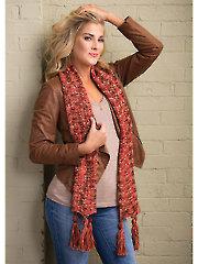 Apple Cider Scarf Knit Pattern