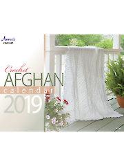 2019 Crochet Afghan Calendar