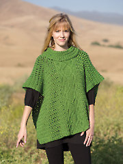 ANNIE'S SIGNATURE DESIGNS: Golden Hour Poncho Crochet Pattern