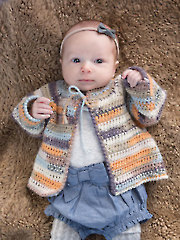 ANNIE'S SIGNATURE DESIGNS: Love & Hugs Cardi & Hat Crochet Pattern