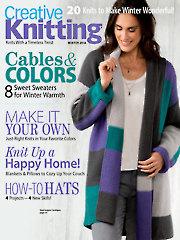 Creative Knitting Winter 2018