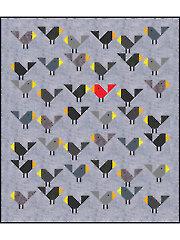 Black Birds Quilt Pattern