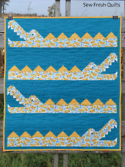 Crocodile Rock Quilt Pattern - Electronic Download
