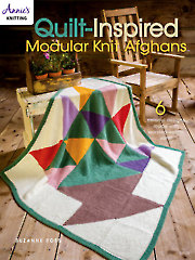 Quilt-Inspired Modular Knit Afghans