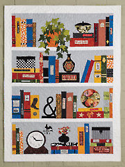 EXCLUSIVELY ANNIE'S QUILT DESIGNS: The Bookcase Quilt Pattern