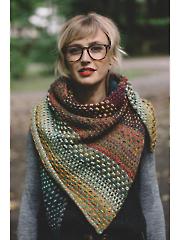 Nightshift Shawl Knit Pattern