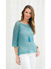 Simply Superb Pullover Crochet Pattern