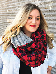 Lumber Jill Cowl Knit Pattern