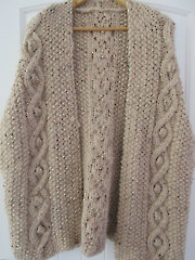 Cabled Gillet Cape Knit Pattern