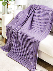 Timeless Textures Afghan Crochet Pattern