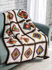 Center-to-Corner Afghan Crochet Pattern