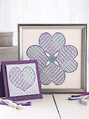 Celtic Heart Sampler & Card Cross Stitch Pattern