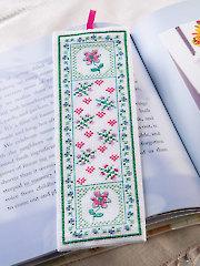 Flower Bookmark Cross Stitch Pattern