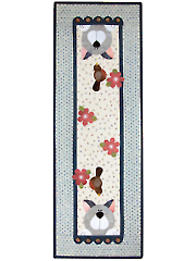 Cattin' Around Wall Hanging and Table Runner Pattern - May