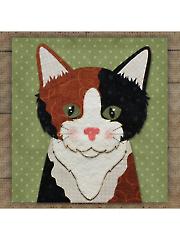 Calico Cat Precut Fused Applique Kit