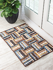 EXCLUSIVELY ANNIE'S QUILT DESIGNS: Strip Roll Rug Quilt Pattern