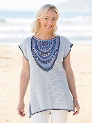 ANNIE'S SIGNATURE DESIGNS: Abalone Mandala Tunic Crochet Pattern