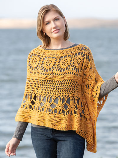 ANNIE'S SIGNATURE DESIGNS: Island Dream Wrap Crochet Pattern