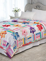 Crazy Daisy Quilt Pattern