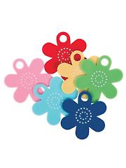 Floss Flower Thread Bobbins & Label Set - 6/pkg
