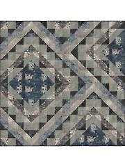 African Violet Mosaic Quilt Pattern