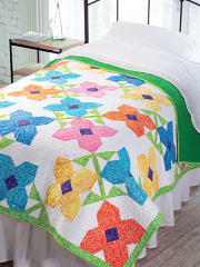 EXCLUSIVELY ANNIE'S QUILT DESIGNS: Bloomin' Quilt Pattern