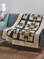 EXCLUSIVELY ANNIE'S QUILT DESIGNS: Floating Stars Quilt Pattern