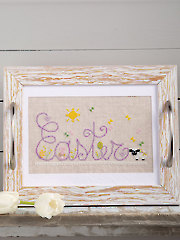 Easter Party Tray Pattern