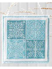 Snowflake Quartet Ornament Pattern