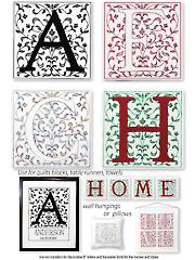 Alphabet Iron-On Embroidery Patterns