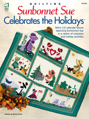 Sunbonnet Sue Celebrates the Holidays - Electronic Download