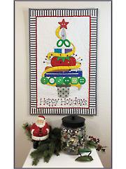 Holiday Sewing Tree Wall Hanging Pattern
