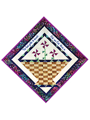 Baskets of Blessings Wall Hanging Pattern