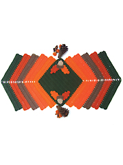 Autumn Splendor Table Runner Crochet Pattern
