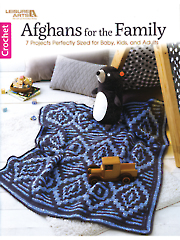 Afghans for the Family Crochet Pattern