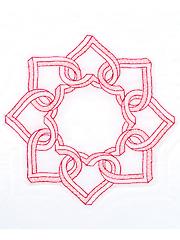 Interlocking 3D Hearts 18