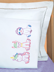 Baby Animals Children's Pillowcase Pattern