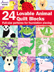24 Lovable Animal Quilt Blocks