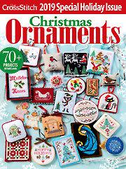 Just CrossStitch Christmas Ornaments 2019