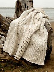 ANNIE'S SIGNATURE DESIGNS: Cornwall Gansey Afghan Crochet Pattern
