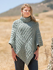 ANNIE'S SIGNATURE DESIGNS: Rowany Gansey Poncho Crochet Pattern