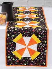 Candy Corn Runner Quilt Pattern
