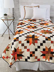 EXCLUSIVELY ANNIE'S QUILT DESIGNS: Fall Into Stardom Quilt Pattern